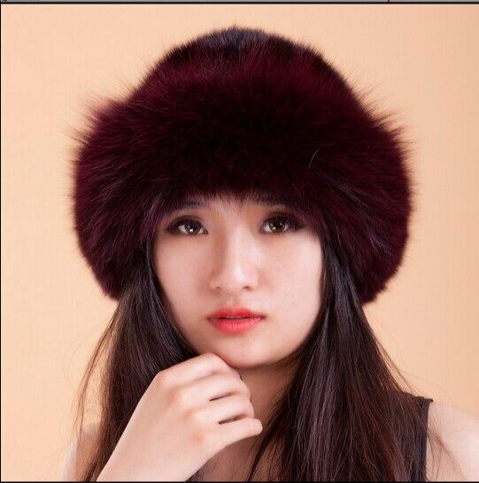 Free Shipping New Fashion Real Genuine Mink Fur Hat Cap Nature Mink Fur Hat Fashion Women Headgear