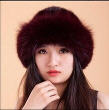 Бесплатная Доставка Новая Мода Настоящее Подлинная Норки Hat Cap Природа Норки Меховая Шапка Женская Мода Головные Уборы