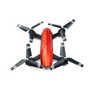 Smart Folding UAV Drone720P HD Cam APP Remote WiFi 3D Roll Over One Key Remove Maintaining Altitude Standard Edition Helicopter
