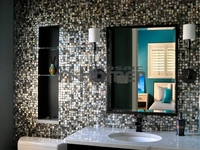 black mother of pearl tiles luxury tiles for kitchen backsplash and bathroom wall and floor