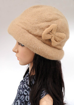 Free shopping 2018 Fashion  wool Winter hats for women winter cap thickening thermal knitted hat female caps 2