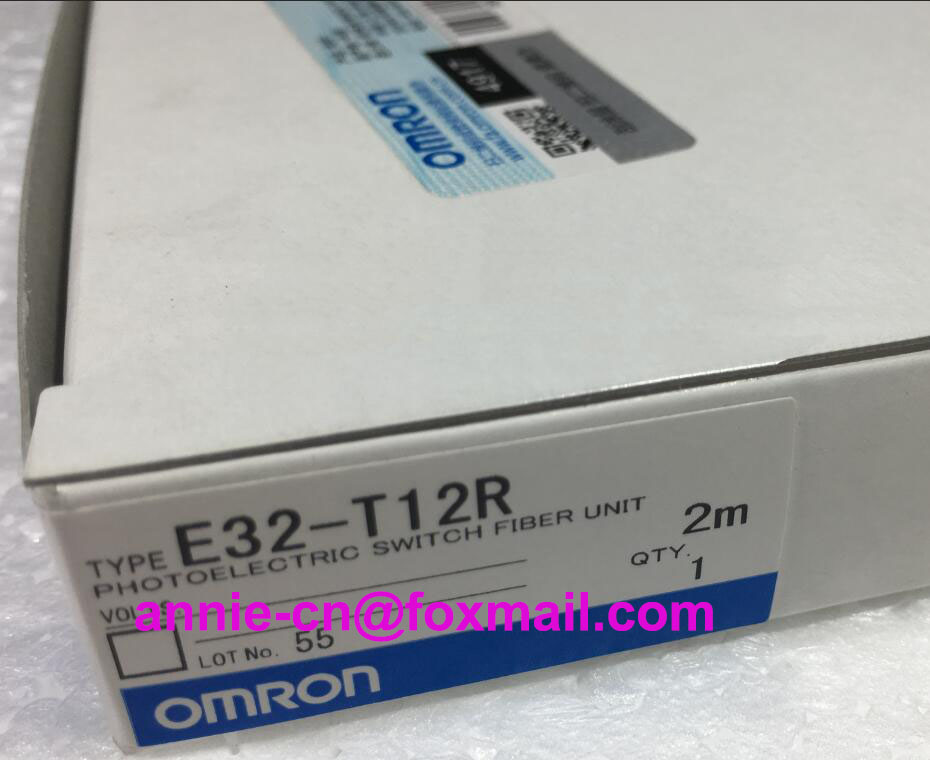 100%New original  E32-D21R, E32-T12R   2M  OMRON  PHOTOELECTRIC SWITCH FIBER UNIT dhl ems 5 sests new in box for omron plc e32 d21b e32d21b photoelectric switch fiber unit