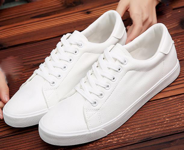New Classic Style Men Casual Flats Shoes High Quality Men Vulcanize Shoes Lace Up Men loafers Walking Shoes Men's pu Sneakers цена
