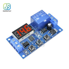цена на LED Digital Time Relay Trigger Cycle Timer Delay Switch DC 24V Time Delay Relay Module Switch Control