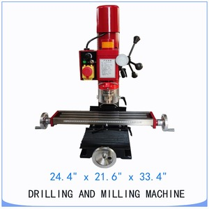 Image 2 - CNC Milling Machine Vertical Small Gear Drive Drilling Milling Machine 50  2500 rpm