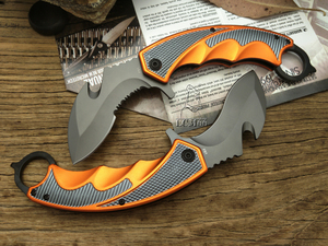 Image 5 - Couteau de poche tactique pliant LCM66 Karambit, couteau à griffes de renard, outil cadeau csgo, pour camping, plein air, pour la survie dans la jungle, auto défense