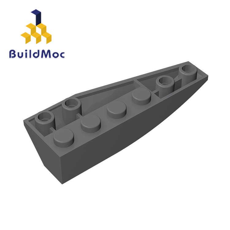 BuildMOC 用互換レゴ 41765 2 × 6 (左) ビルディングブロックの部品 DIY ロゴ教育創造ギフトのおもちゃ