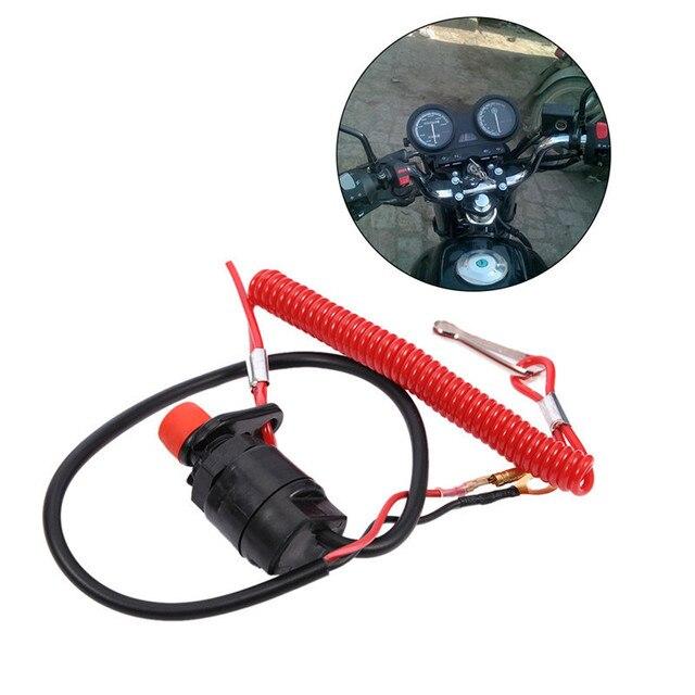 Универсальный Детская безопасность троса шнурки Кнопка лодка двигатели для автомобиля двигатель предохранитель переключатель цикл переключател