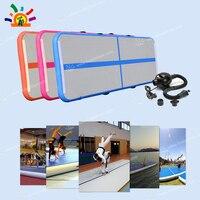 Надувной воздушный трек тапочки домашние гимнастические Чирлидинг акробатика Коврики тренажерный зал с электрическим насосом