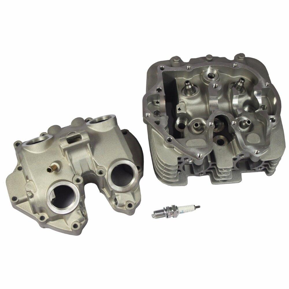 Cylinder Head With Spark Plug For 1999-2008 Honda Sportrax TRX400EX