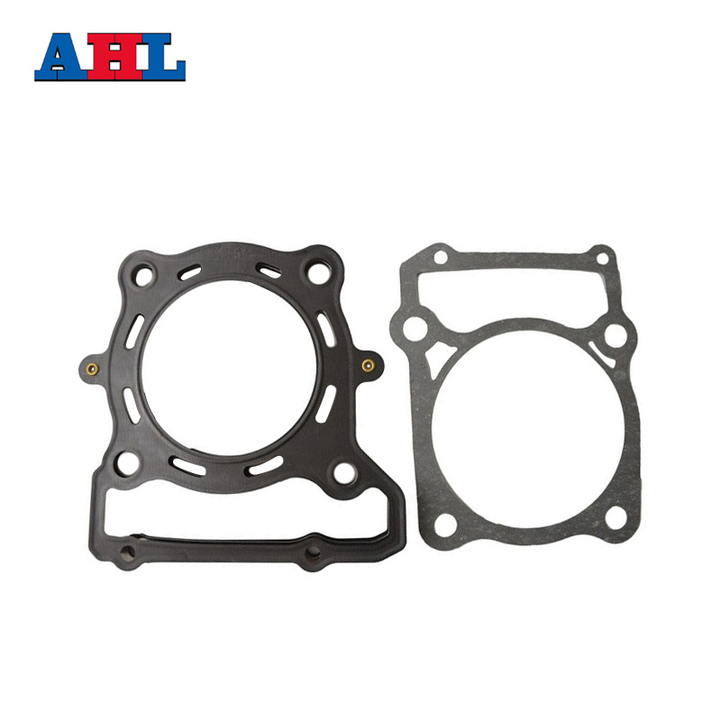Motorcycle Engine Parts Head Cylinder gaskets Kit For Kawasaki KLX300 KLX 300 Stator Cover Gasket ahl motorcycle head cylinder gaskets engine starter cover gasket & oil seal kit for honda vt250 magna 250 racing replacement