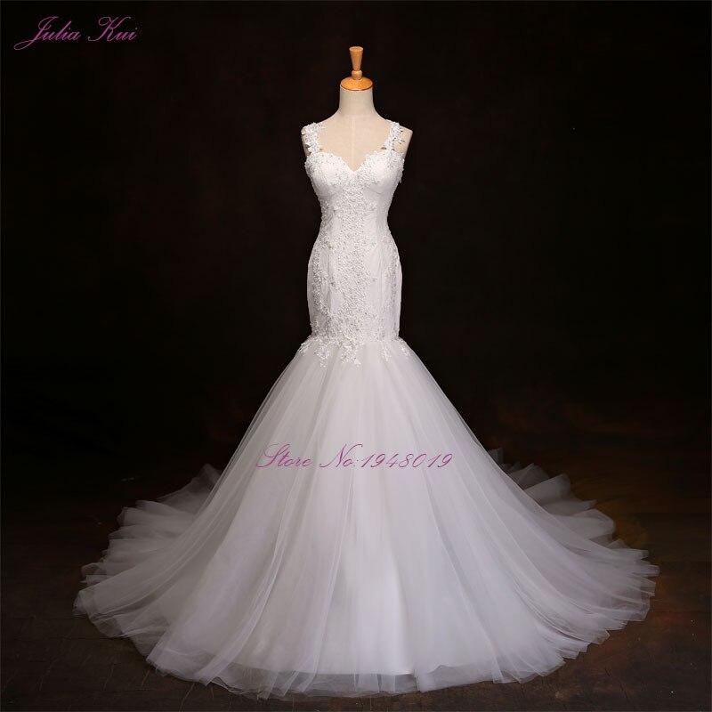 Liyuke Nekilnojamasis paveiksliukai Elegantiška vestuvių suknelė - Vestuvių suknelės
