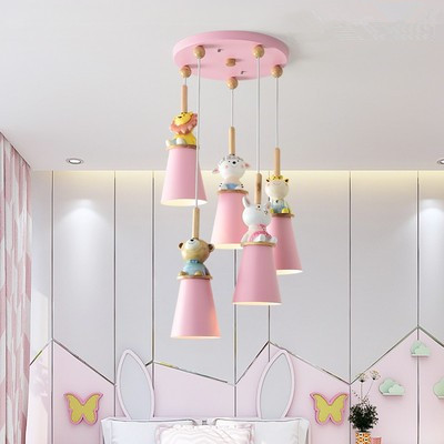 Led Pendant Lights For Kids Room Pink
