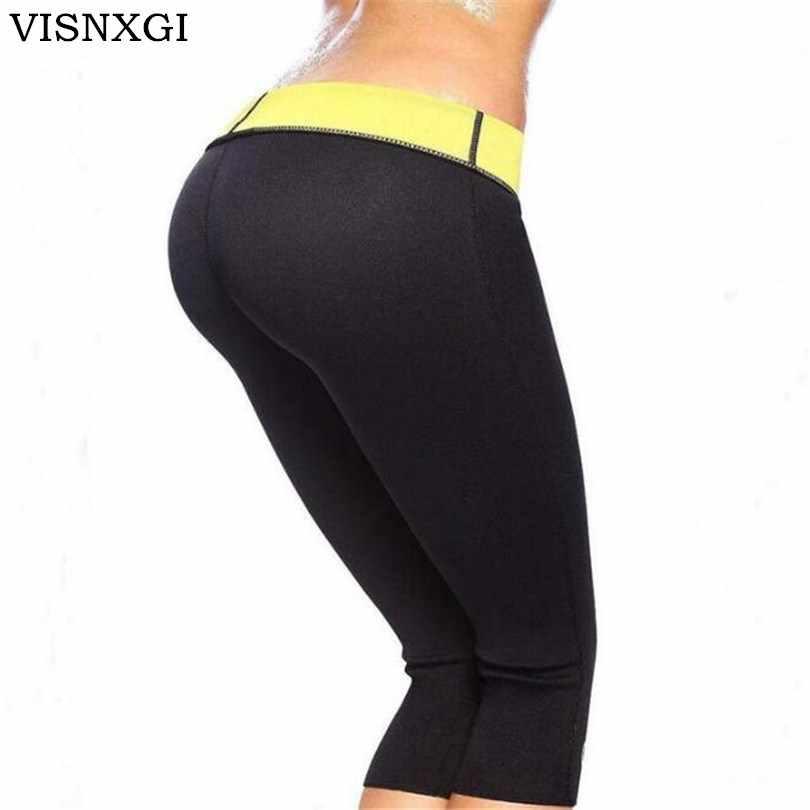 ca6f4fbe1a VISNXGI Women Hot Shapers Super Stretch Super Control Panties Pant Stretch  Neoprene Slimming Body Shaper 6
