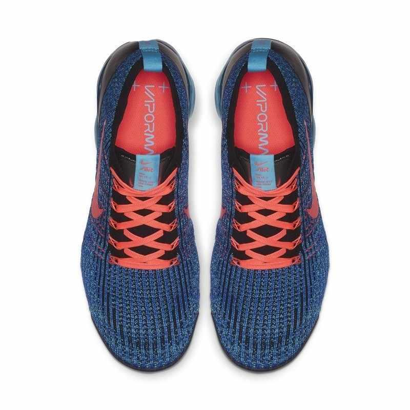 Oryginalny prawdziwe Nike FLYKNIT VAPORMAX powietrza 3 męskie buty do biegania trend sport na świeżym powietrzu buty sportowe amortyzator AJ6900