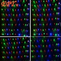 10ps 3m*2m Net Lights 200LED Net Mesh Decorative Fairy Lights Twinkle Lighting Christmas Wedding Party EU/US 110V/220V