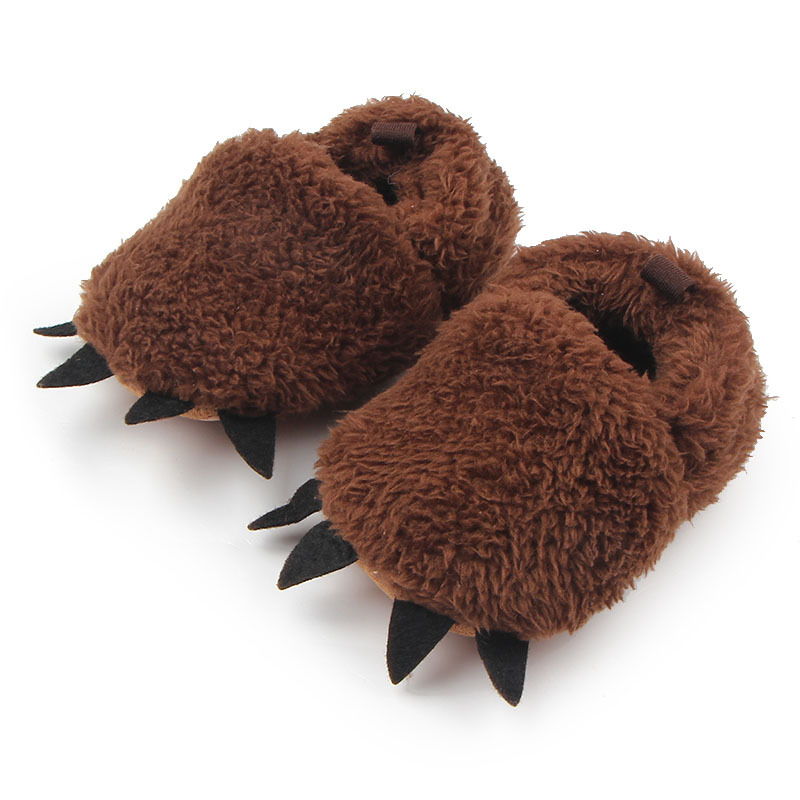Winter-New-Cute-Modeling-Monster-Paw-Baby-Warm-Slippers-moccasins-Shoes-First-Walkers-Photo-Props-Accessories-Baby-Clothing-2