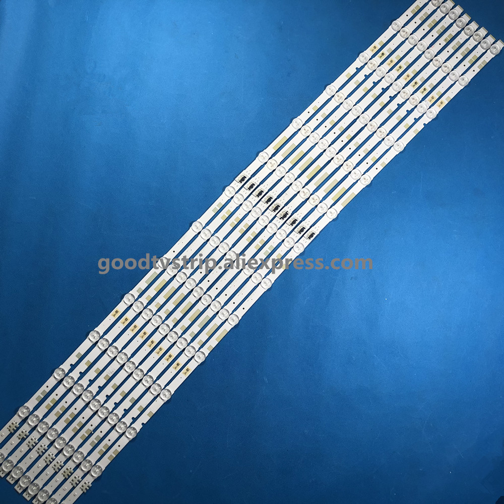 Industrial Computer & Accessories 680mm Led Backlight Lamp Strip 100leds For 55 Inch Lcd Led Tv Ua55d6600wj Bn64-01664a Ltj550hw01 Ua55d6000sj Ua55d6400uj 2pcs 100% Original