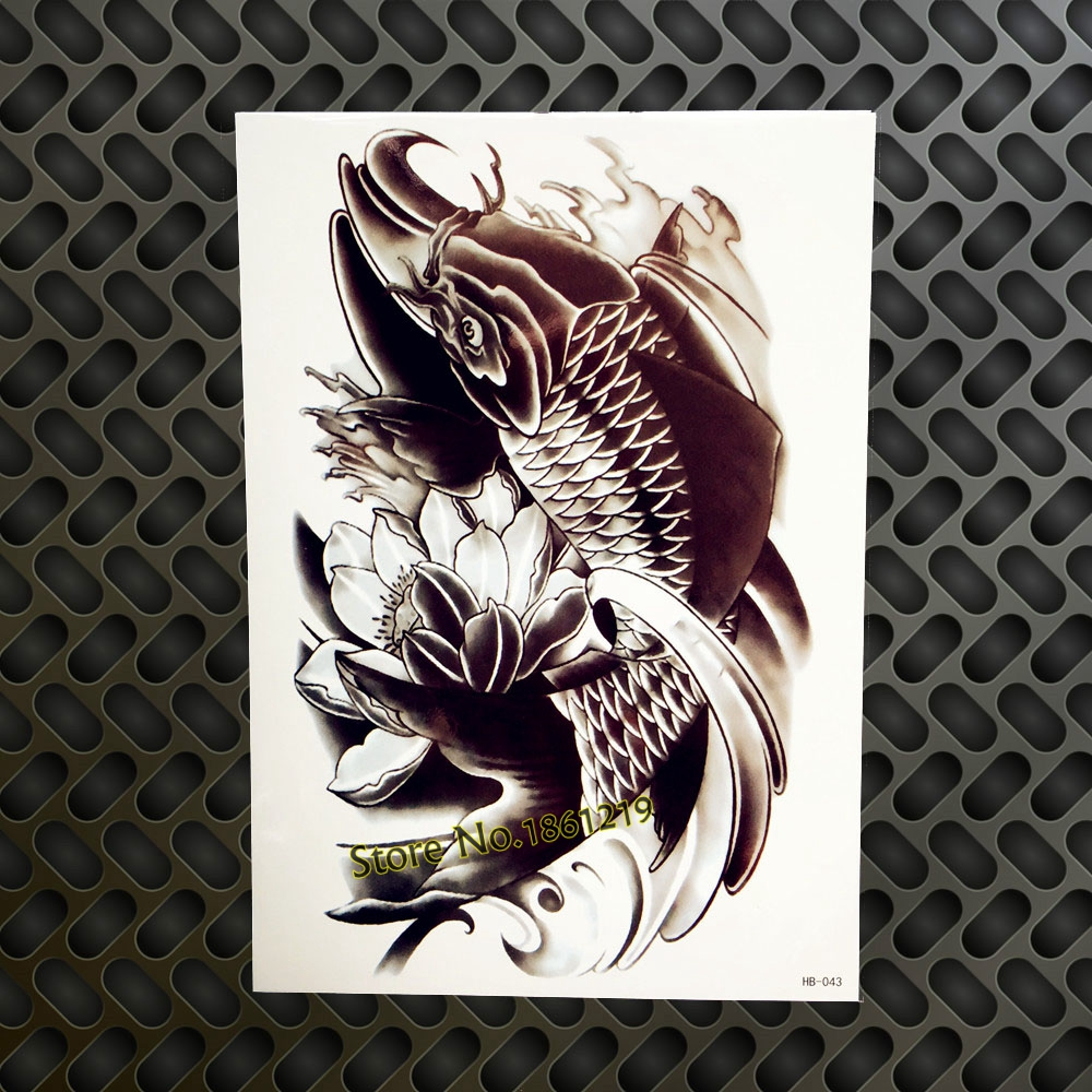 1pc Old School Temporary Tattoo Stickers Sexy Women Guns N Roses
