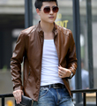 New Slim Fit Leather jacket for mens suede Coat winter spring clothes fashion outerwear for men Plus Size PY8832