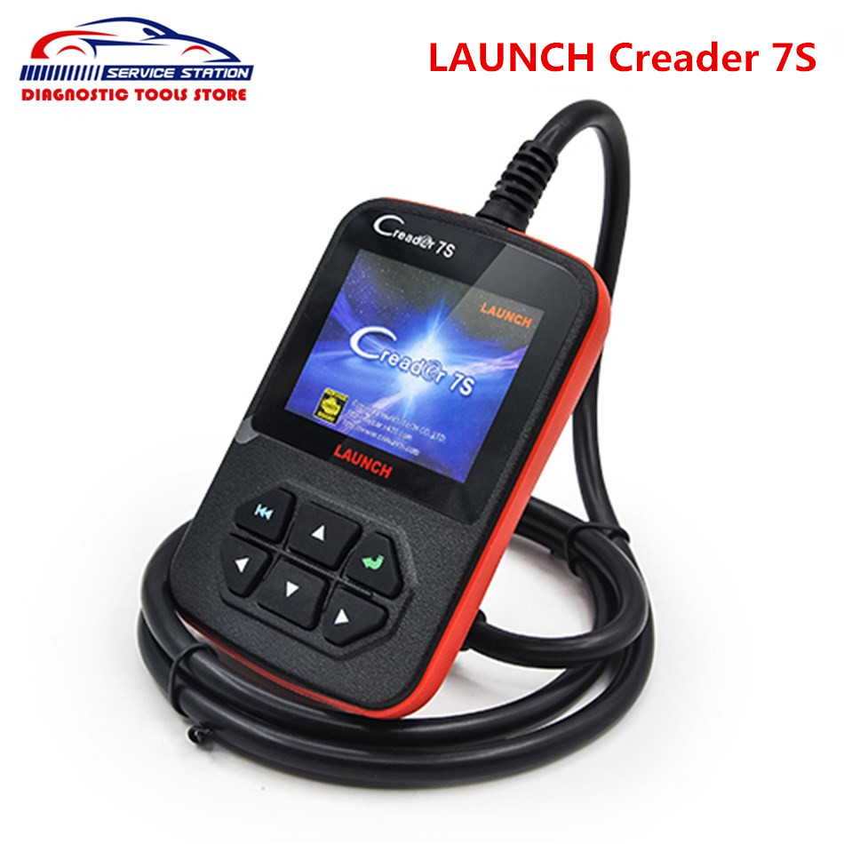 DHL Free LAUNCH X431 Creader 7S Code Reader Creader vii 7 Diagnostic Update Online Multi-language