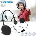 VicTsing-Беспроводная стереогарнитура Для мотоциклетного и велосипедного шлема  Bluetooth 4 0  громкая связь  управление музыкой  домофон для мотоци...