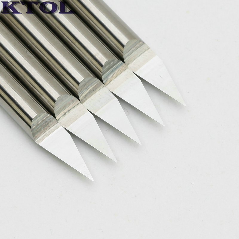 Tools Machine Tools & Accessories 1pcs 4mm Shk Engraving Bits Precise Cnc Router Tools Center Dagger Knife Carbide Carving Cutters