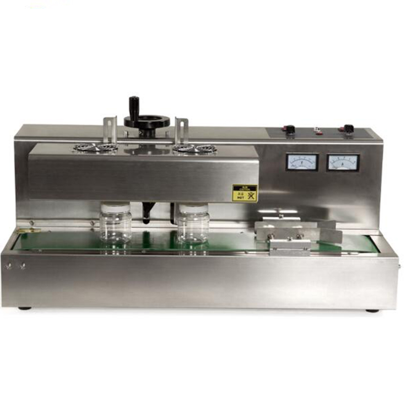 continuous electromagnetic induction sealing machine automatic induction sealing machine bottle sealing machine 1pc DL-300A sealing machine
