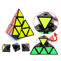 YJ Moyu Pyramid Magic Cube Triangle Shape Cubos Pyraminx Speed Puzzle Cube Game Magicos Twist Puzzle Learning Educational Toys