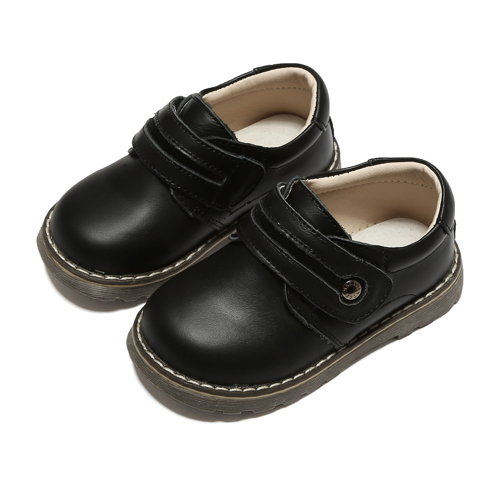 BOYS KIDS CHILDRENS 100/% LEATHER SHOES SCHOOL TRAINERS SIZE 8 8.5 9 10 11 11.5