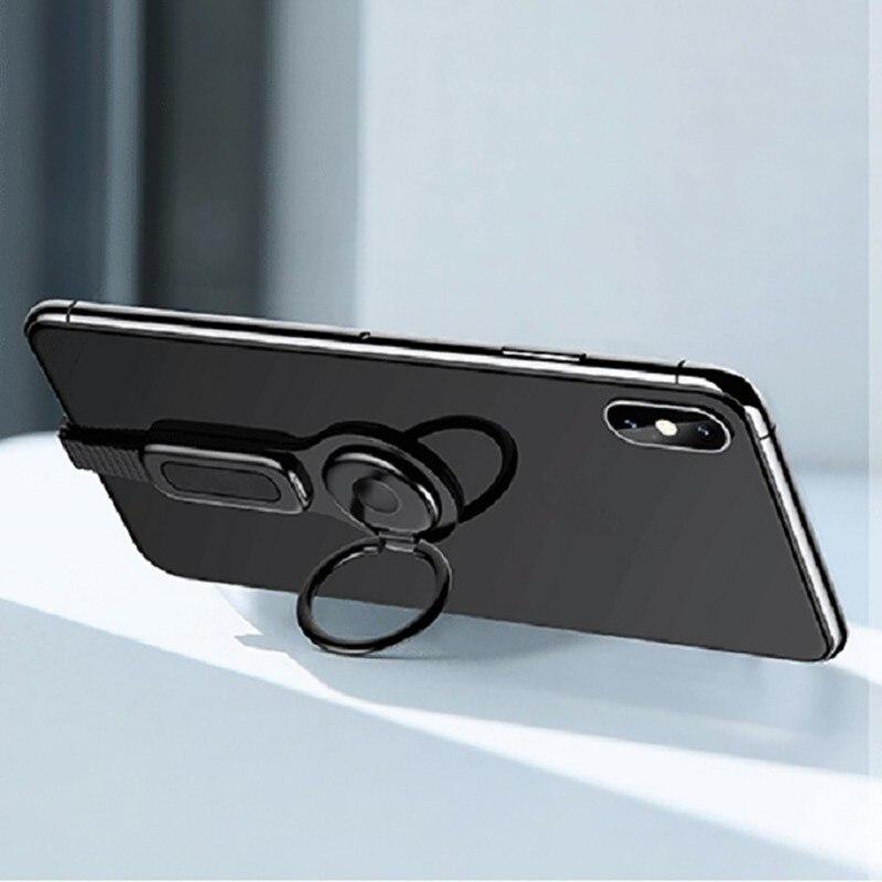 Beleuchtung Dual Adapter & Ring Halter USAMS 3,5mm Audio & ladegerät Einstellen Telefon Halter schnelle lade für iPhone iOS adapter OTG