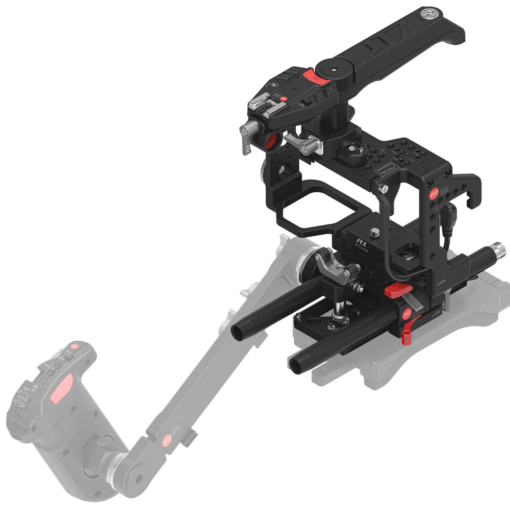 JTZ DP30 Camera Cage Baseplate Rig for Sony A7S A7SII A7SM2 A7R A7RII A7M2 A7 II handgrip dslr camera cage rig baseplate for sony a7s a7ii a7 camera fou lumix gh3 gh4 cameras nex 5t a5100 a6000