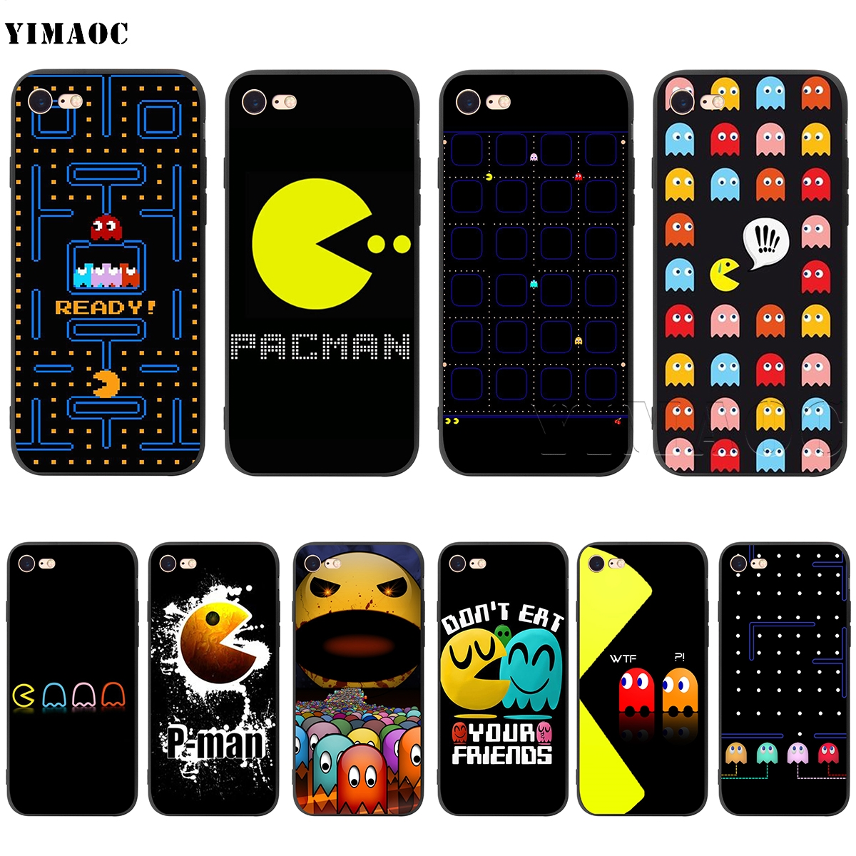 for iphone 11pro max cover Pacman Pac Man Eating Phone Accessories ...