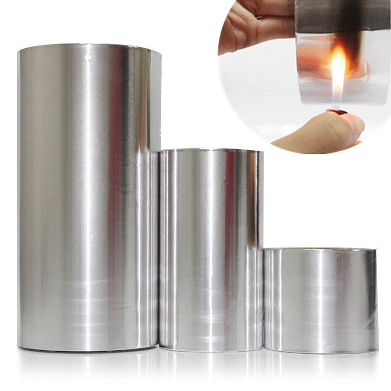 20 м лента из алюминиевой фольги, клейкая уплотнительная лента, термостойкая клейкая лента, термостойкая фольга, водонепроницаемая клейкая лента
