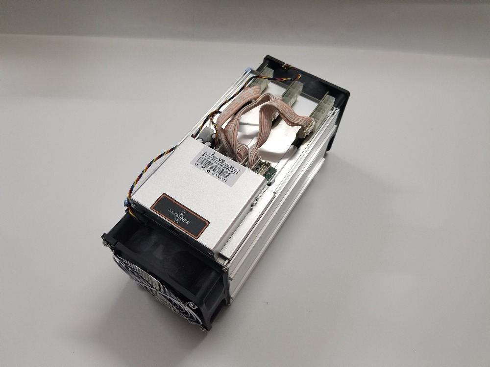 Without PSU New AntMiner V9 4T 4TH/S Bitcoin Miner Asic Miner BTC BCH Miner Economic Than S9 Ebit E9 Whatsminer M3