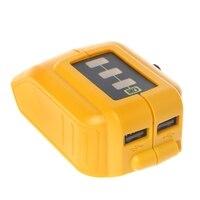 Dcb091 li-on bateria usb carregamento conversor dc 12 v saída aquecido jaquetas adaptador