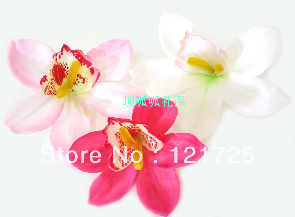 Small silk flowers for crafts crafting free shipping orchid artificial flower silk small wedding mightylinksfo