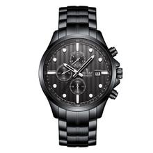 2019 New Watches Men Luxury  Chronograph Sports Waterproof Quartz Mens Watch Relogio Masculino