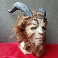 Красота и Чудовище головные уборы cos кино и телевизионные проекты Хэллоуин Бар сети живые люди носить маски принца