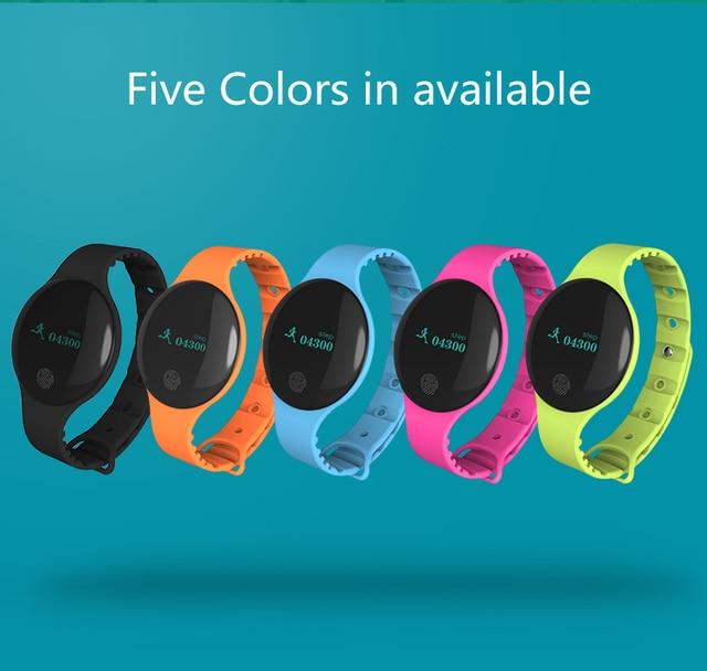 BOUNABAY Smart Sport Bracelet Watch for Women Original Ladies Shockesportivo Lad