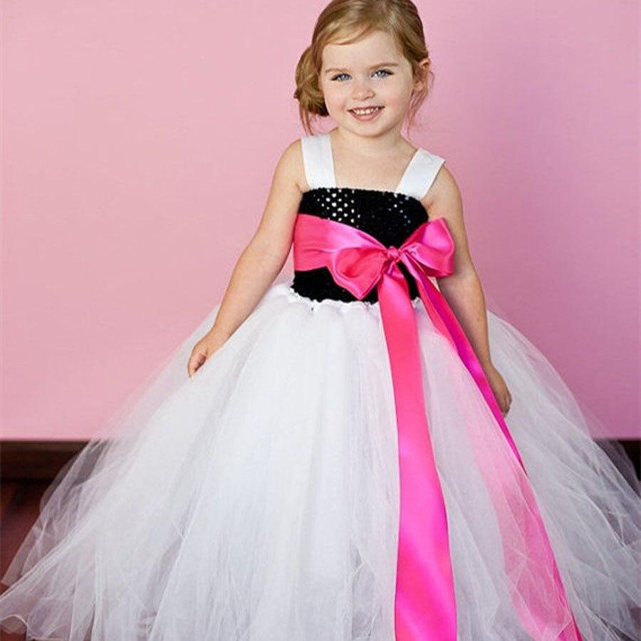 10 boja vrpce luk djevojka Tutu haljina za rođendan foto svatove - Dječja odjeća