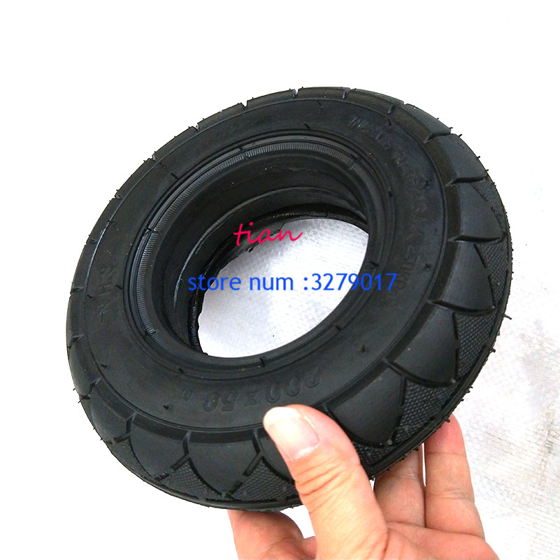 Image 5 - 2 colors 1 pc Mobility Scooter wheelchair tire 200 x 50 (8x2) solid/foam filled 200x50 for Razor E100 E125 E200 Scooter Vapo-in Tyres from Automobiles & Motorcycles