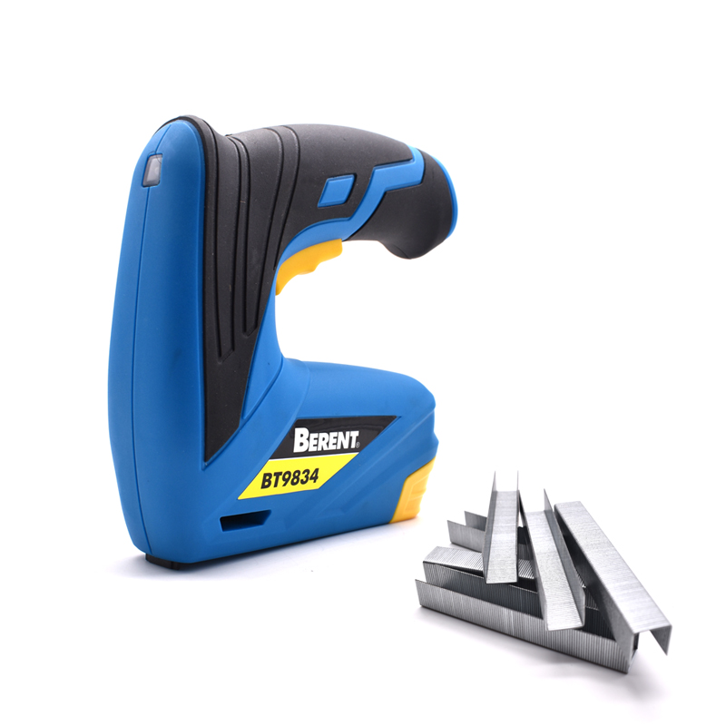 3 6V Lithium Battery Charging Mode Framing Tacker Electric Stapler Gun With 600pcs Nails Electric Power