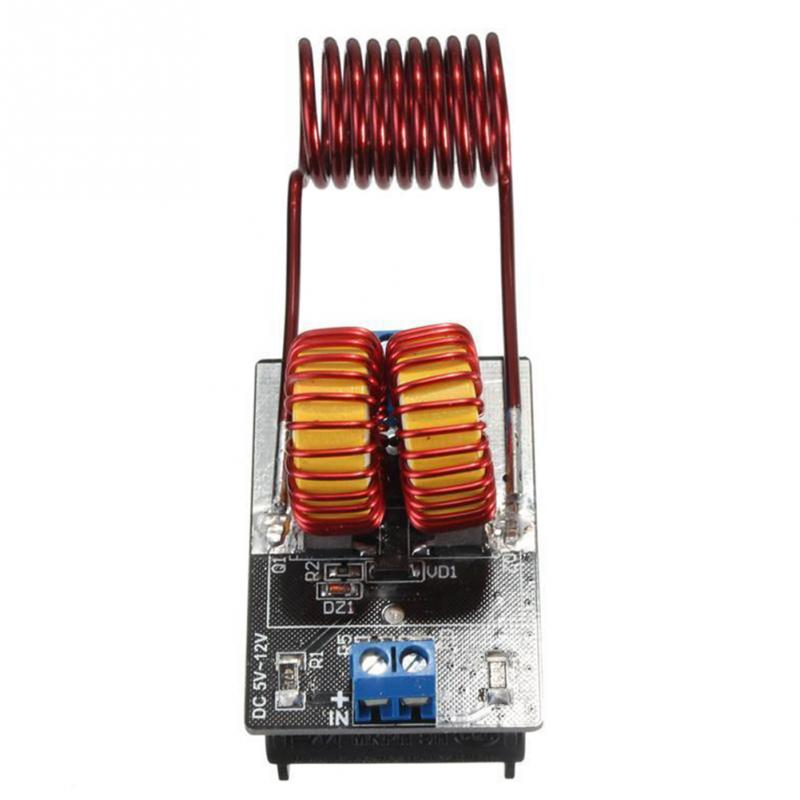 5-12V ZVS Low Voltage Induction Heating Power Supply Module Induction Heating board for induction heating power supply with Coil