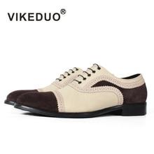 Vikeduo/итальянская дизайнерская обувь ручной работы; Роскошные Мужские модельные туфли в винтажном стиле для свадебной вечеринки; мужские туфли-оксфорды из натуральной кожи; Zapatos
