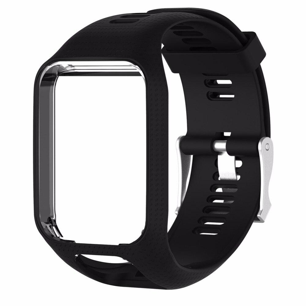 Smartband Silikonband Band Armband Ersatz Straps Rahmen Für TomTom Funken/Funken 3/Runner 2/Runner 3/Adventurer/Golfer 2