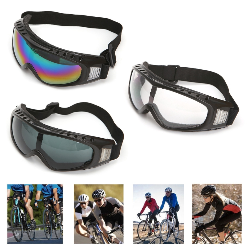 Universal Outdoor Safety Glasses Goggles Lens Mountain Climbing Skiing Eyewear-in Safety Goggles from Security & Protection
