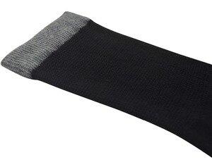 Image 5 - Best Mens calcetines diabéticos de media pantorrilla de bambú con punta sin costuras, talla L 6 pares (calcetines talla: 10 13)
