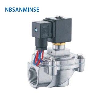 NBSANMINSE QA - Z -20J /25J  Replaced ASCO Pulse Jet Valve G 3/4 1 inch Double Diaphragm Valve Clean Air Solenoid Low Pressure nbsanminse kc throttle valve hydraulic flow control valve pt 1 4 3 8 1 2 3 4 high pressure industry parts