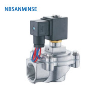 NBSANMINSE QA Z 20J /25J Replaced ASCO Pulse Jet Valve 3/4 1 inch Double Diaphragm Valve Clean Air Solenoid Low Pressure